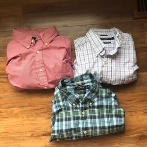 Bundle of three Nautica button downs